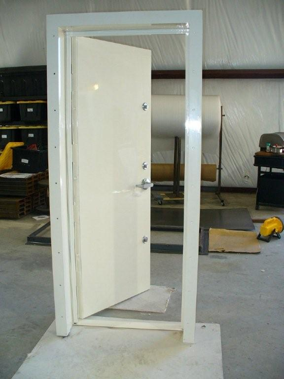 custom security door