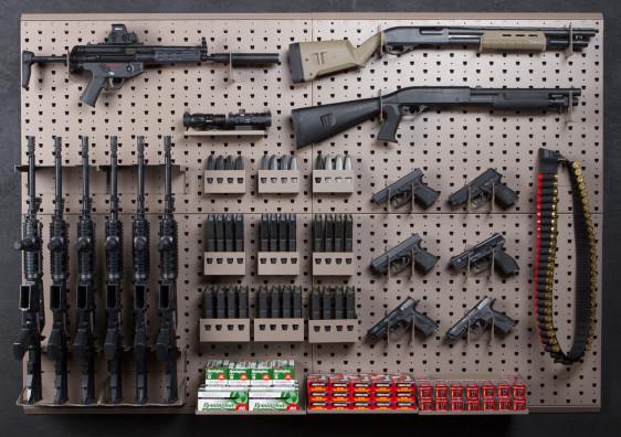 Gun Racks Ammo Storage Shelves