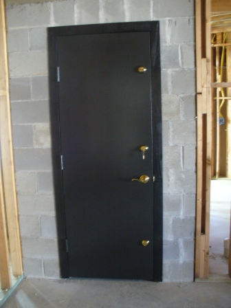 ... Triple deadbolts on FEMA safe room door. : ballistic doors - pezcame.com