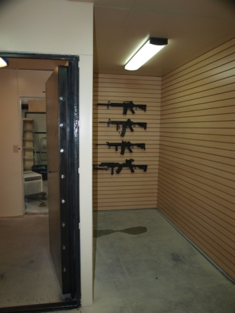Gun vault gun vaults gun safe modular gun vaults for Walk in gun vault room