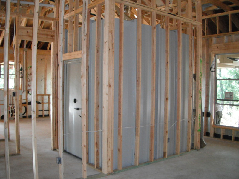 Safe room doors safe doors security doors safe room door for Safe room builders