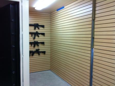 Gun vault gun vaults gun safe modular gun vaults for Walk in gun room