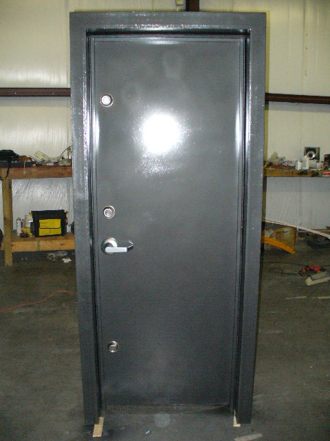 Safe room doors safe doors security doors safe room door for Custom safe rooms