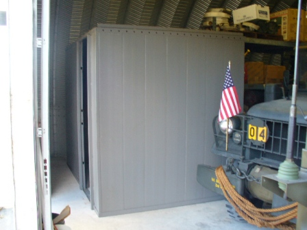 Ammunition room and safe room
