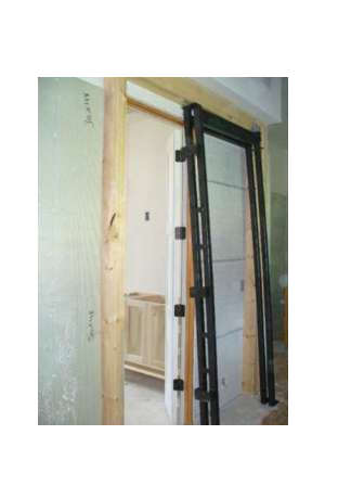 pocket door frame installation
