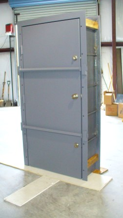 security door for thick wall