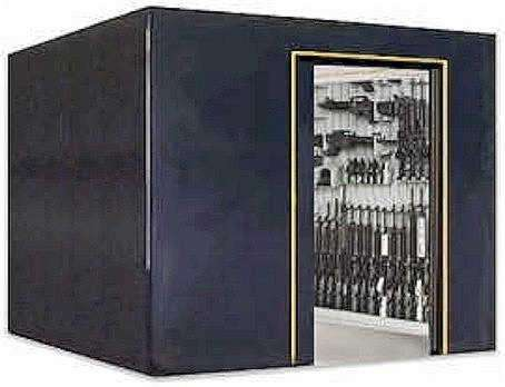 Biggest gun safe you have for Walk in gun vault