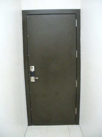 UL 752 Level 5-8 Ballistic Door Installed into existing opening in concrete filled cmu & Bullet Ballistic Resistant Doors pezcame.com